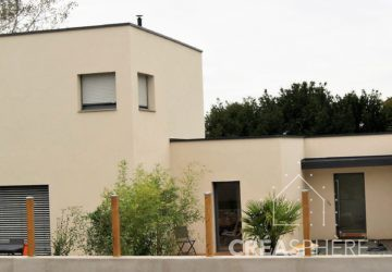 Réalisation maison bioclimatique 2